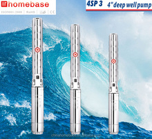 China manufactuer 4SP3 series Stainless steel impeller 1.5hp water submersible pump italy brand