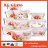New Design Decal Glass Bento Lunch