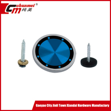 OEM available decorative metal screw covers