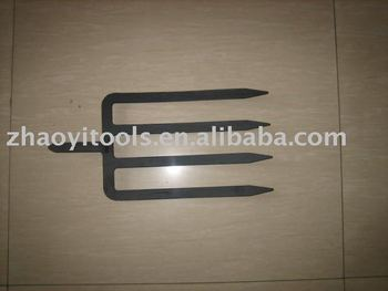 1003104 many specifications high quality flat tines spade fork forging pitchfork