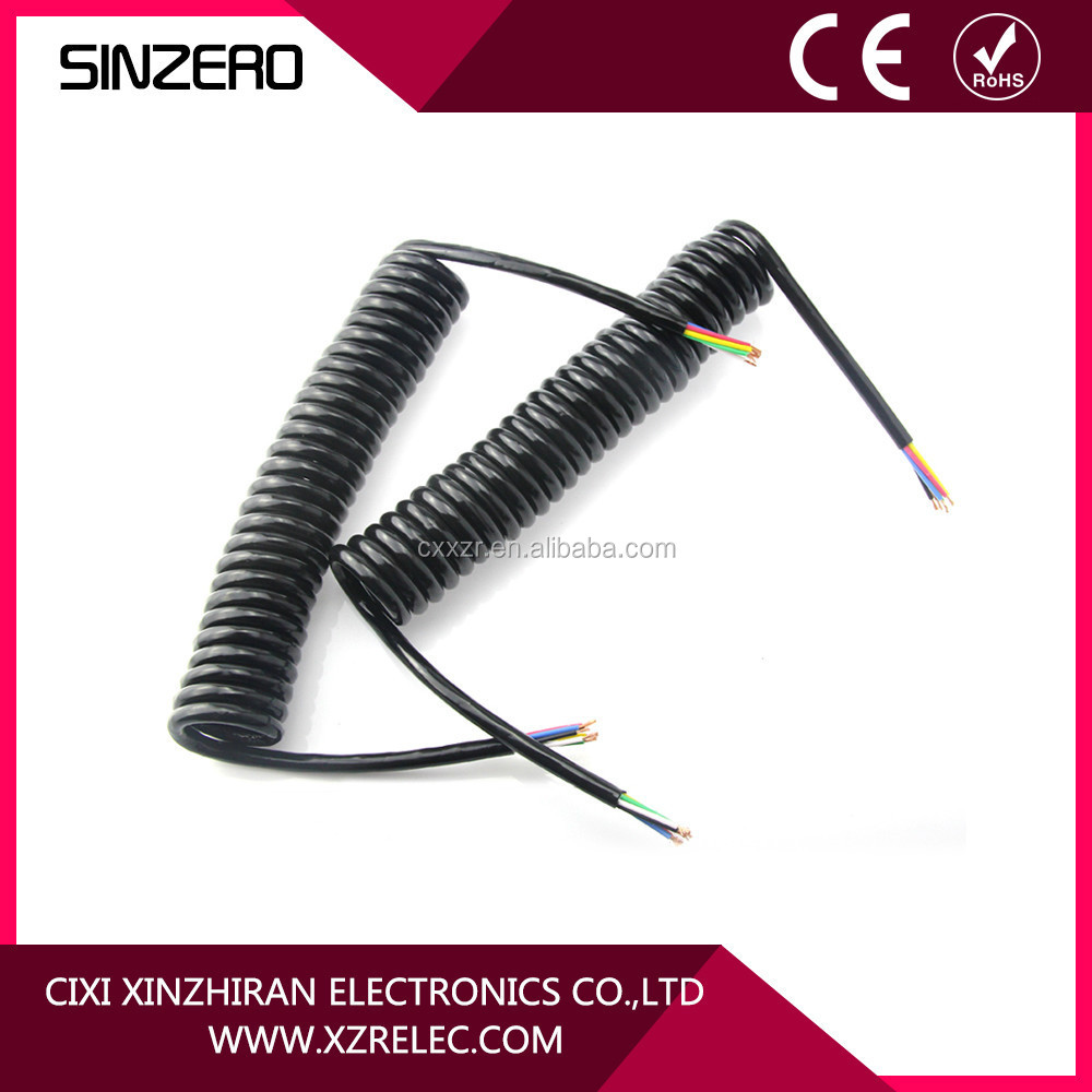 7 Core Cable with Widely Used in Motor Cycles and Trailer/Trailer extension cord