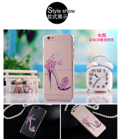 High quality new fashion ultra thin slim TPU Back case for Iphone 5