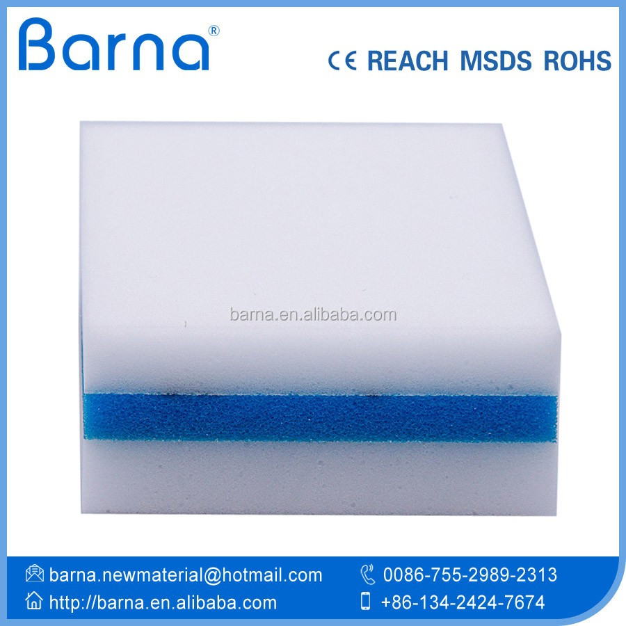 Big size Melamine nano foam Sponge for car washing glass sofa cleaning