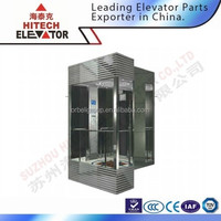 Glass Sightseeing Panoramic Elevator with Low Price/HF-G010