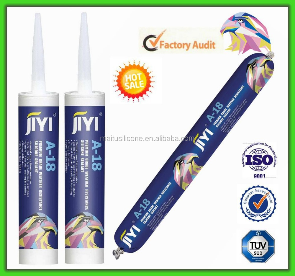 Single part weatherproof silicone sealant