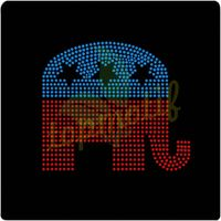 2013 Republican Rhinestones SDX,Iron On Rhinestone Patterns Custom Designs