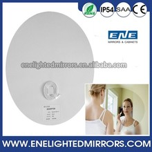 Hot selling Bathroom LED Lighted Mirror with lx heat pad