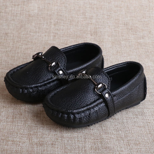 KS30593A Genuine leather high quality children kids moccasin shoes comfortable leather shoes for kids boys