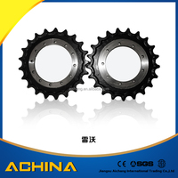 lower price excavator wheel drive chain sprocket/crane wheel for hot selling