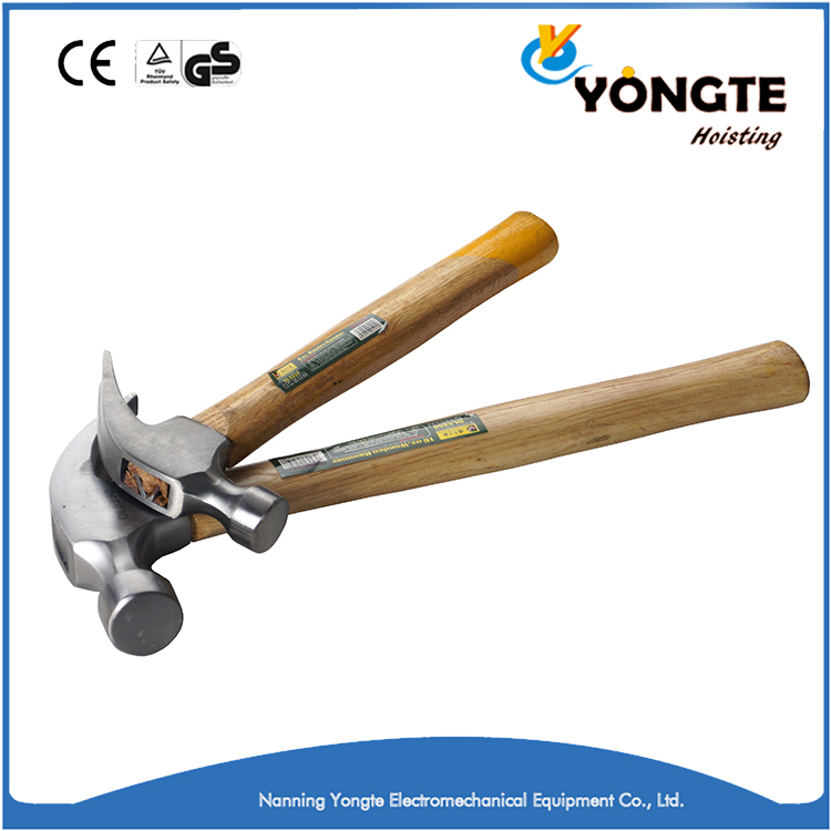 US Type hot sale different types of claw hammers