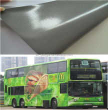Polymeric bubble free self adhesive vinyl for car wrapping