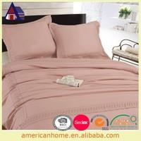 Modern pink softly hom bedding set comforter set