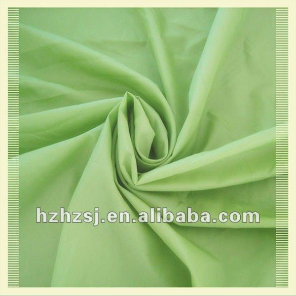 100% polyester 190T with PU coated Waterproof taffeta Fabric