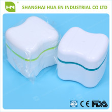 Wholesale Denture Store Container,Denture Store Box With Net