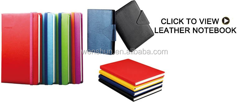 Chinese gold supplier plastic pp spiral notebook with pocket