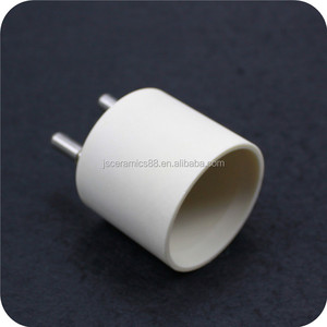 high temperature resistance steatite holder insulating halogen lamp ceramic base