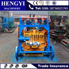 Stable structure and lowest price small type concrete fly ash hollow bricks maker/mobile block making machine