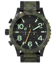 custom design automatic army tactical chronograph watches for men