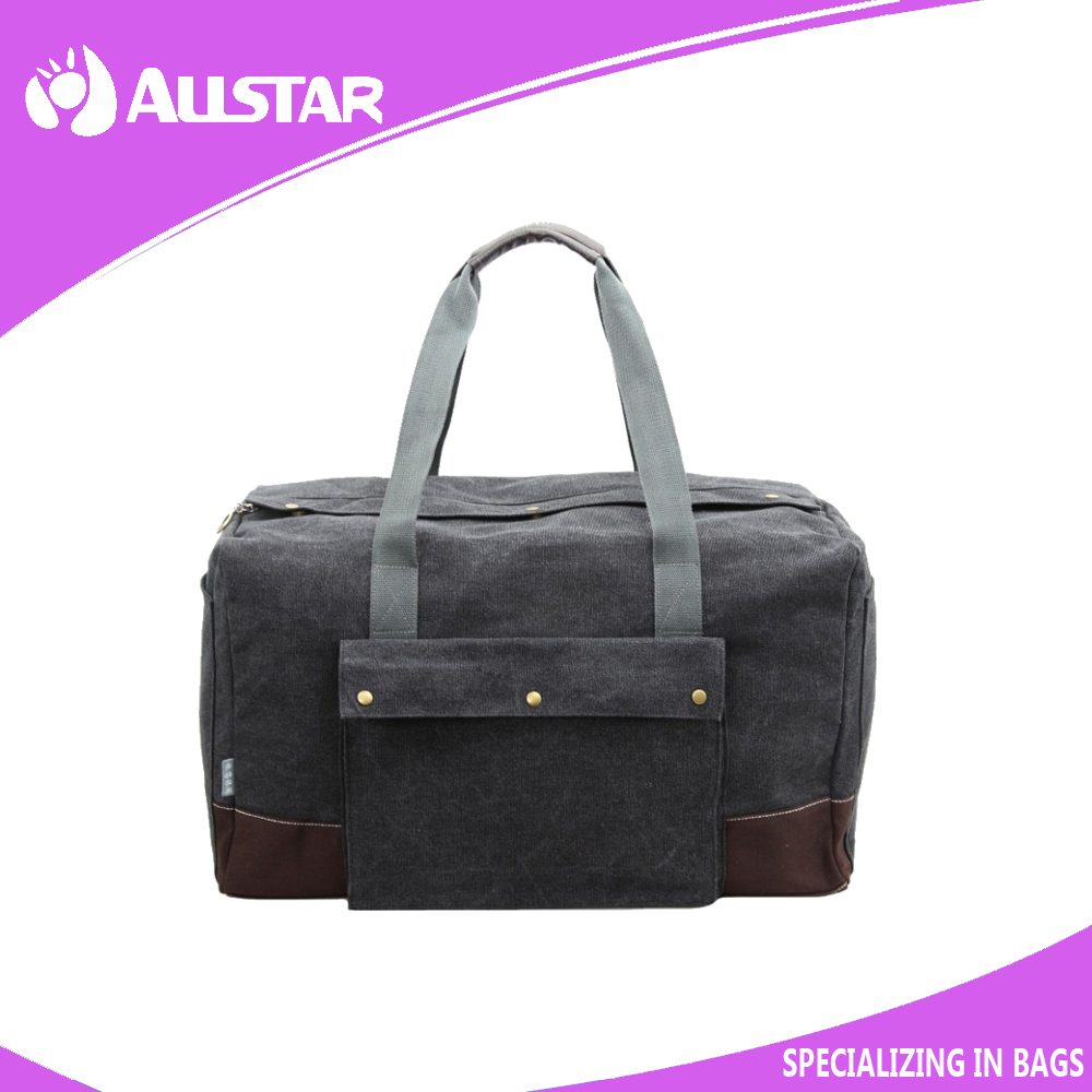 China supplier casual canvas travel bag for men