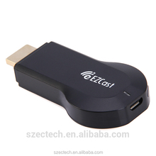 Quad core AM 8251 wifi display wireless tv dongle ezcast with 128MB RAM satellite sharing receiver in stock