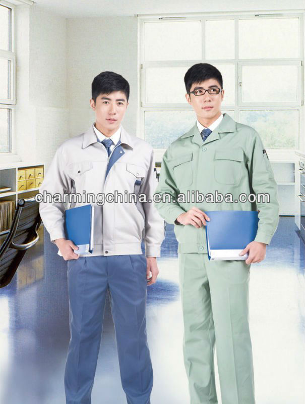 office workwear uniform wholesale with light color