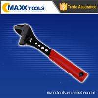 "6"" (160mm) 45# carbon steel djustable wrench with black finished M02-AW605-060L hand tool multi tool"