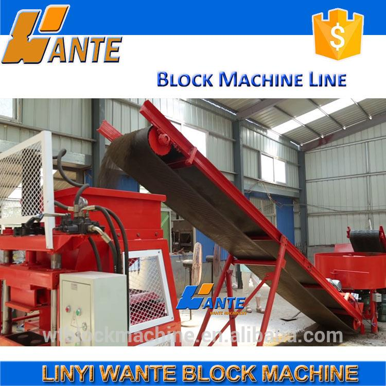 Auto concrete pavement block machine / cement paving block machinery / interlocking road block production lines price