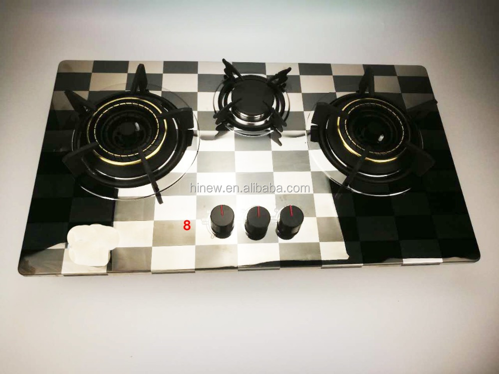 MSD-7106S Gas cooktop 3 knob infrared gas cooker range burner for home kitchen appliance manufacture China