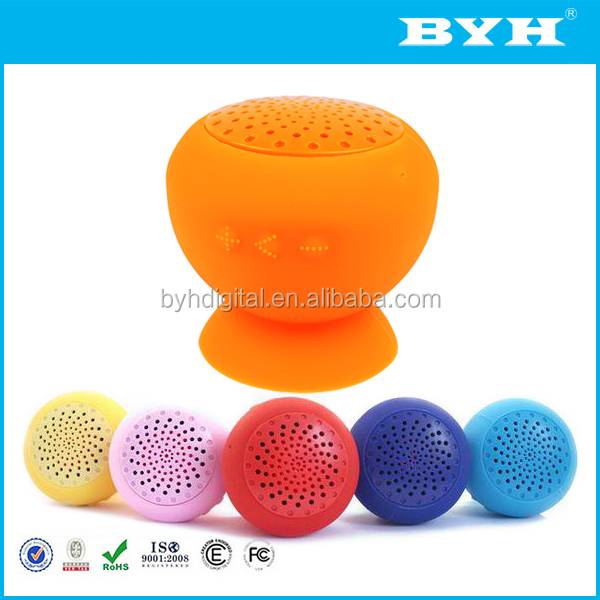 cheap custom logo bluetooth speaker waterproof bluetooth stereo shower speaker mini mushroom bluetooth speaker