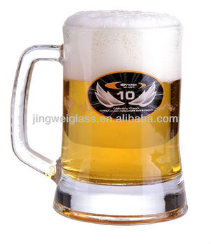 welcomed and famous brand beer mug