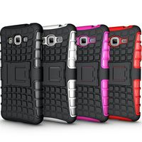 Stand Rugged Hybrid 2015 Shockproof Skin Covers for Motorola Droid M/I XT907 XT890