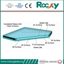 Double Exterior Wall Hurricane Glass Panels