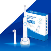 New design professional disposable mini oscillating toothbrush with good price