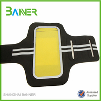 waterproof running sports armband with screen protector
