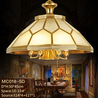 Unique hanging ceiling lights brass pendant light for dining room