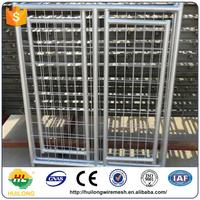 Brand new 2016 made in china rolling fence pet cages fancy dog kennel(anping Huilong) with CE certificate