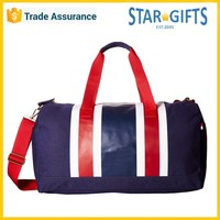 Wholesale 2016 Dye Sublimation Navy Blue Large Canvas Duffle Bag For Travel