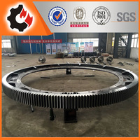Big Casting Segment Ring Gear for Grinding Mill Rotary Kiln
