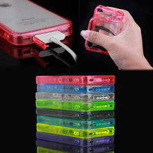 factory price acrylic TPU PC back cover case for iphone 4, for iphone 4 case