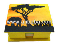 Elephant Dung Recycle Paper Box
