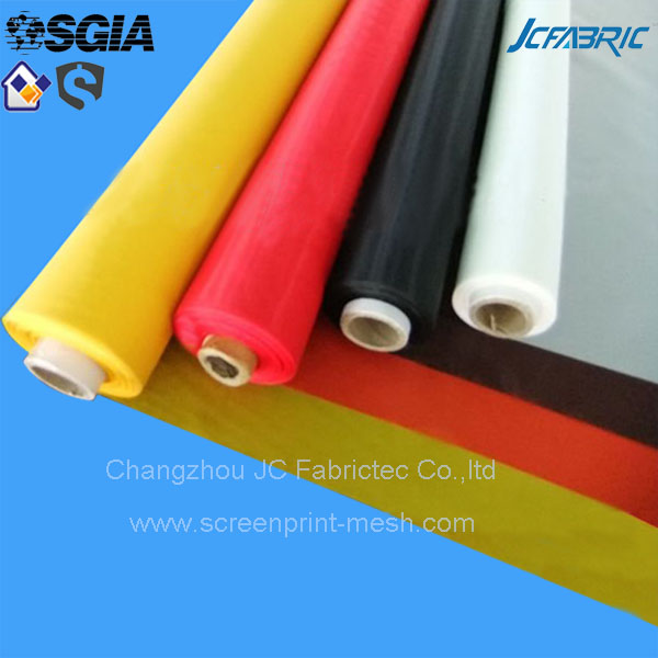 roll screen printing mesh silk fabric