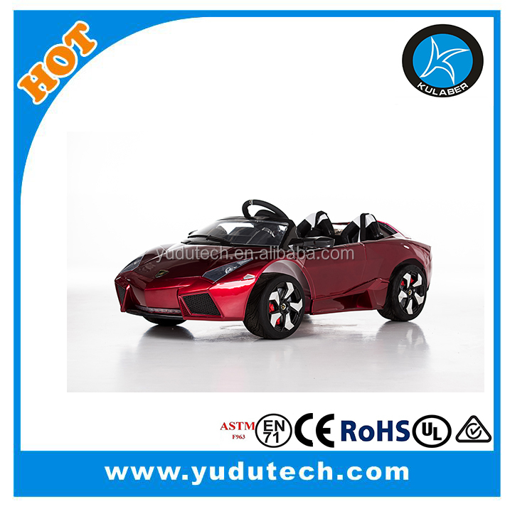 New Lamborgini remote control baby electric car,kids battery powered Mp3 2.4G bluetooth remote control ride on cars