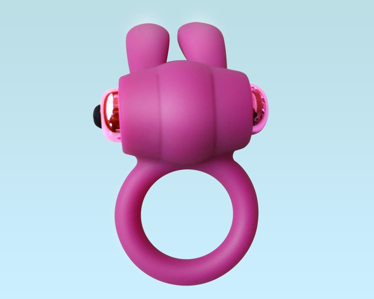 G-Spot Silicone Cock Ring Adjustable,Vibrate Penis Ring, Vibrating Rabbit Ring Big Cock for Man