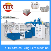 plastic packaging film making machine stretch wrap film extruder