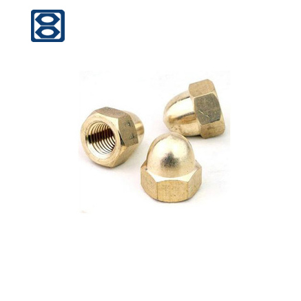 High Precision Stainless Hex Domed Cap Nuts