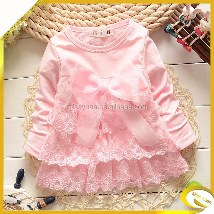 2015new vogue high quality lace clothes for kids