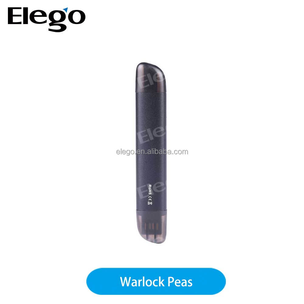 Rofvape Tech Newest Refillable Cartridge Warlock E Cigarette Peas Pod Vape Juul Pods