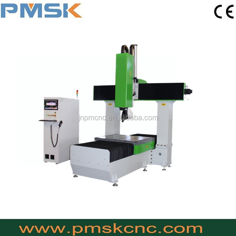 PM 1224 cnc machine 5 axis,Jinan hot sell 5-axis cnc machine for wood foam plastic
