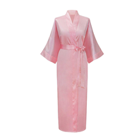 we produce and wholesale solid color silk bridesmaid robes