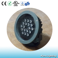 High quality stainless steel 18W LED underwater lighting